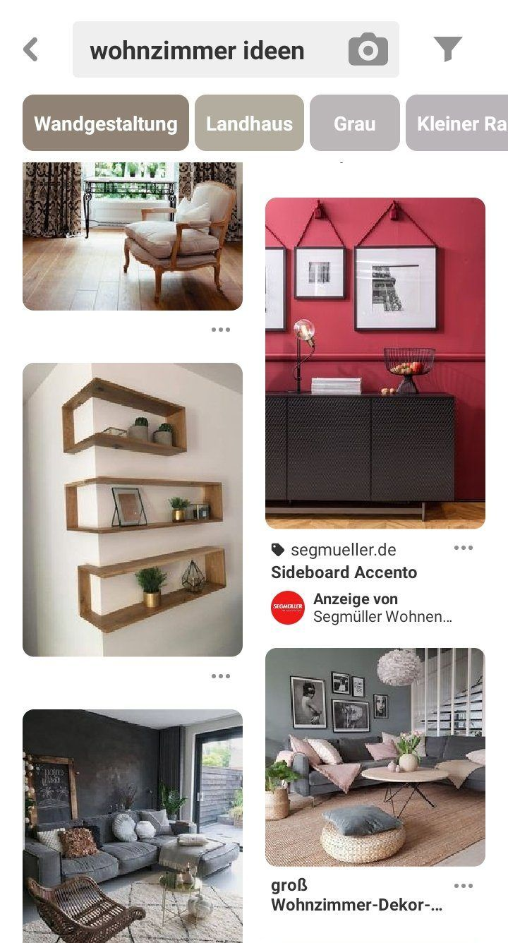 Screenshot Pinterest Shopping